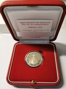 MONACO 2 EURO 2020 – 300TH ANNIVERSARY OF THE BIRTH OF HONORE III