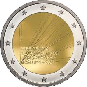 PORTUGAL 2 EURO 2021 - PORTUGUESE PRESIDENCY OF THE EUROPEAN UNION