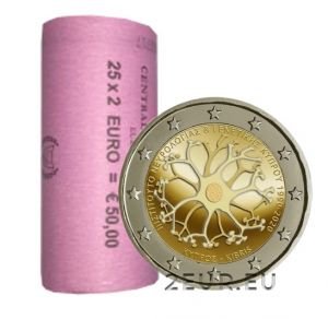 CYPRUS 2 EURO 2020 - 30 YEARS OF THE CYPRUS INSTITUTE OF NEUROLOGY AND GENETICSroll
