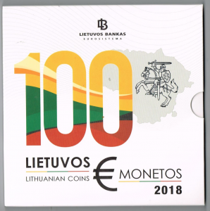 LITHUANIA 2018 - EURO COIN SET