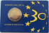 ESTONIA 2 EURO 2015 - 30 YEARS OF THE EU FLAG (COIN CARD)