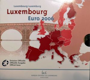 LUXEMBOURG 2006 - EURO COIN SET BU
