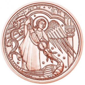 AUSTRIA 10 EURO 2017 -  MICHAEL - THE PROTECTING ANGEL